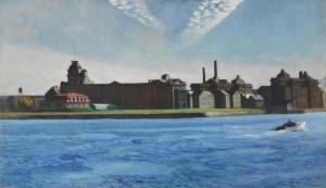 """Blackwell's Island "" Edward Hopper, 1928"