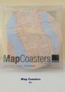 2014 RIHS Map Coasters