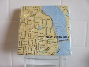 Mapkins: New York City - $4