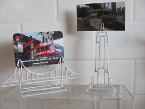 Queensborough and Empire State Building Card Holders - $5 each