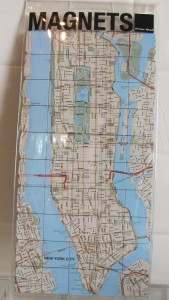 Design Ideas New York City Map Magnets: 50 Piece Set - $8