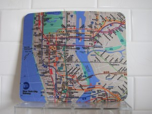 New York City Subway Mouse Pad - $10