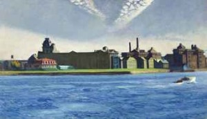Blackwell's Island (1928)  By Edward Hopper